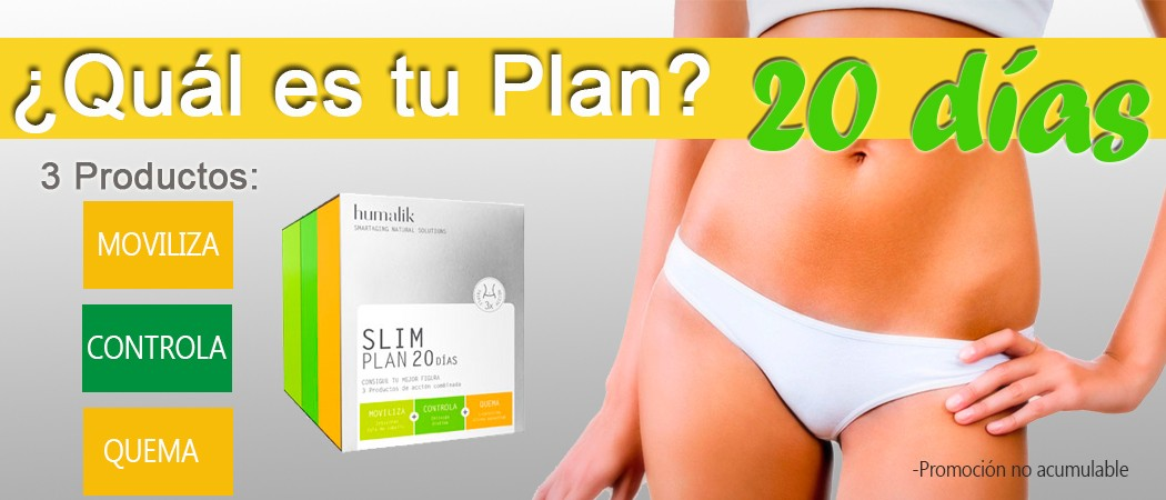 Humalik Plan Slim 20 dias