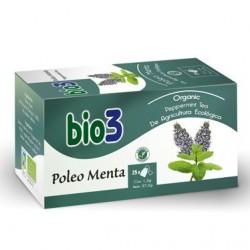 Infusión Bio3 Poleo Menta. 25 bolsitas