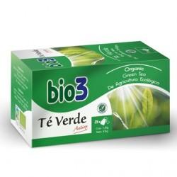 Infusión Bio3 Té Verde Antioxidante. 25 bolsitas