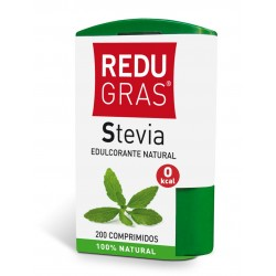 Redugras Stevia Edulcorante Natural. 200 Comprimidos