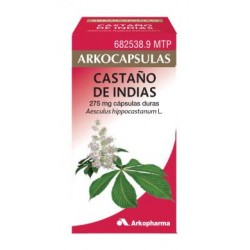 ARKOCAPSULAS CASTAÑO DE INDIAS (275 MG 84 CAPSULAS )