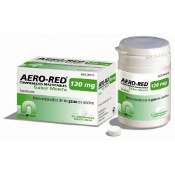 AERO RED (120 MG 40 COMPRIMIDOS MASTICABLES MENTA )