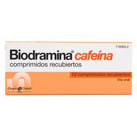 BIODRAMINA CAFEINA (12 COMPRIMIDOS)