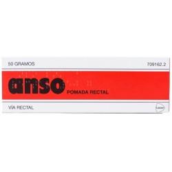 ANSO POMADA RECTAL 50G