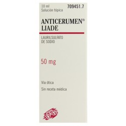 ANTICERUMEN LIADE (50 MG/ML SOL 10 ML)