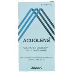 ACUOLENS (COLIRIO 30 MONODOSIS)