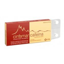 CINFAMAR CAFEINA (50/50 MG 4 COMPRIMIDOS)