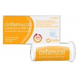 CINFAMUCOL 600 MG 10 COMP