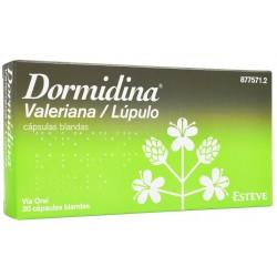 DORMIDINA VALERIANA/LUPULO (30 CAPSULAS BLANDAS)