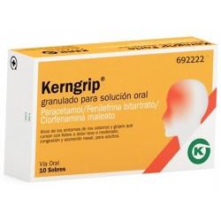 KERNGRIP (10 SOBRES GRANULADO SOLUCION ORAL)