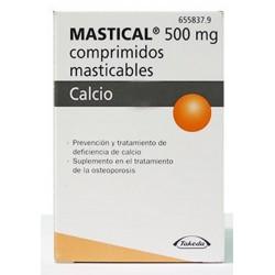 MASTICAL 1250 MG 90 COMP MASTICABLES