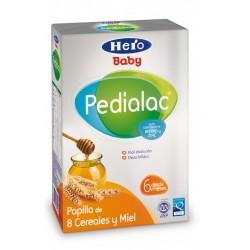 Papilla Hero Baby Pedialac 8 Cereales y Miel.A partir de 6 meses.
