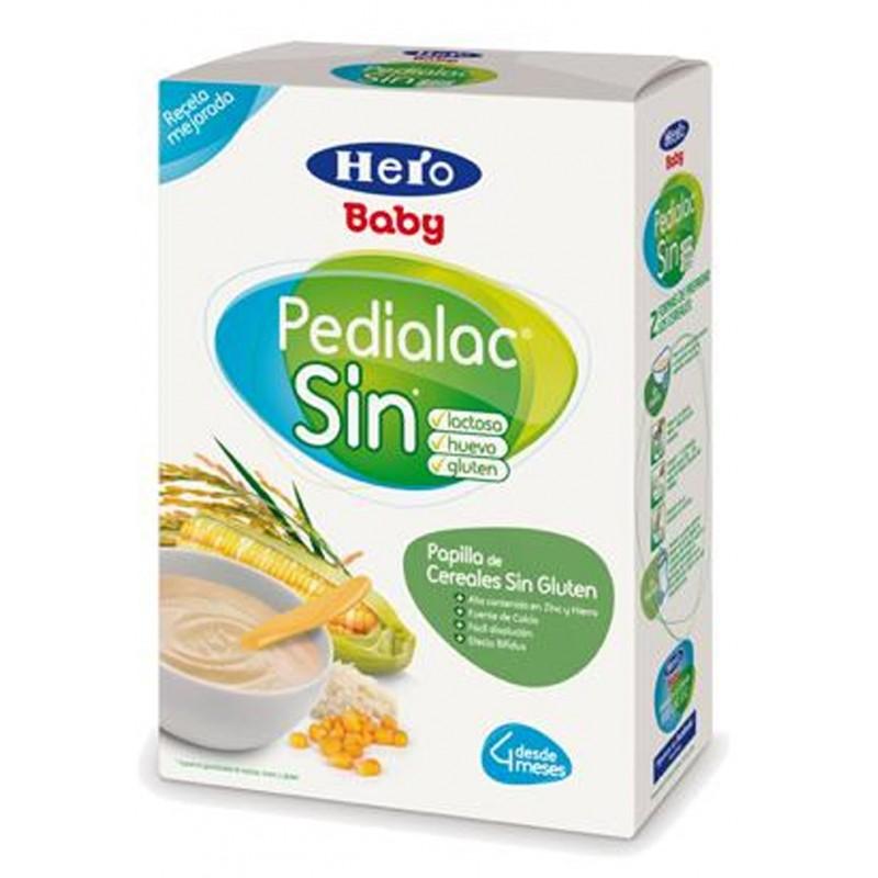 Papilla de cereales hero baby pedialac sin gl ten farmacia penad s alcoy tienda - Cereales sin gluten bebe 3 meses ...