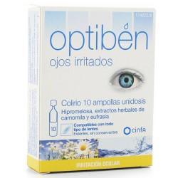Obtiben Ojos irritados 10 ampollas