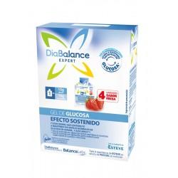 DIABALANCE Gel de glucosa de efecto sostenido 4 sobres