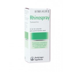 RHINOSPRAY 1.18 MG/ML NEBULIZADOR NASAL 12 ML