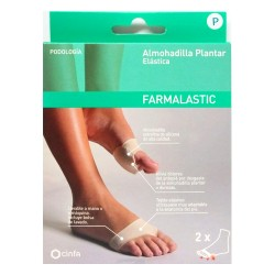 Almohadilla Plantar Elástica Farmalastic