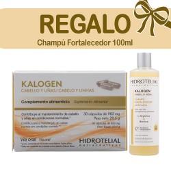 Cápsulas Anticaída Kalogen Cabello y Uñas Hidrotelial