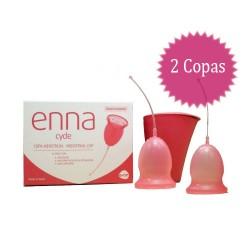 2 Copas menstruales ENNA cycle + Esterilizador.