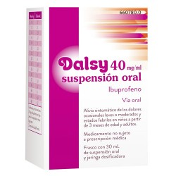 Dalsy 40 MG/ML Suspensión Oral 30 ML