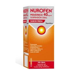 Nurofen pediátrico 40 mg/ml suspensión oral sabor fresa Ibuprofeno