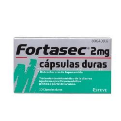 FORTASEC (2 MG  10 CAPSULAS)
