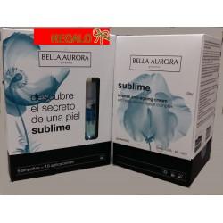 BELLA AURORA PACK REGALO SUBLIME crema día + 5 ampollas oxígeno marino
