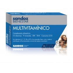 MULTIVITAMÍNICO Sandoz Bienestar 30 cápsulas