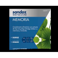 MEMORIA 30 Cápsulas Sandoz Bienestar