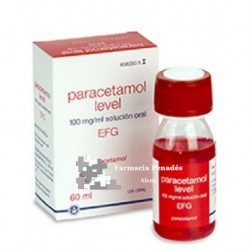 PARACETAMOL LEVEL EFG 100 MG/ML SOL.ORAL 60 ML
