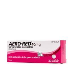 AERO RED (40 MG 30 COMPRIMIDOS MASTICABLES )