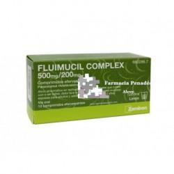 FLUIMICIL COMPLEX (500/200 MG 12 COMP.)