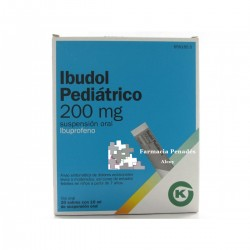 IBUDOL PEDIATRICO (200 MG 20 SOBRES SUSP. ORAL 10 ML)