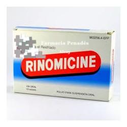 RINOMICINE 10 SOBRES POLVO SUSP. ORAL
