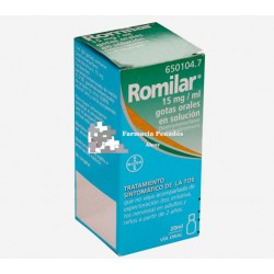 ROMILAR 15 MG/ML GOTAS ORALES SOL. 20 ML