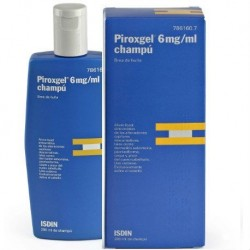 PIROXGEL 6 MG/ML CHAMPU 200 ML