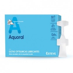 Aquoral Gotas. 20 monodosis