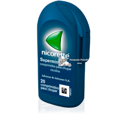NICORETTE SUPERMINT EFG 4 MG 20 COMP.