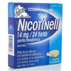 NICOTINELL 14 MG/24 H 7 PARCHES 35 MG