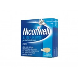 NICOTINELL 21 MG/24 H 7 PARCHES 52.5 MG