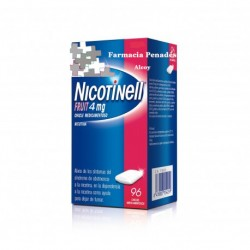 NICOTINELL FRUIT 4 MG 96 CHICLES