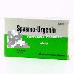 SPASMO-URGENIN 40 GRAGEAS