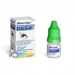 REACTINE Levocabastina 0,5 mg/ml Colirio en suspensión 4 ML