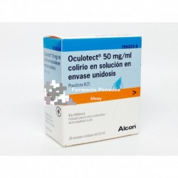 Oculotect 50 mg/ml colirio en solución