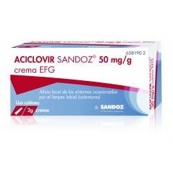 ACICLOVIR SANDOZ CREMA 2 g
