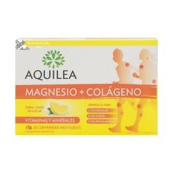Aquilea MAGNESIO + COLAGENO 30 COMPRIMIDOS EFERVESCENTES LIMÓN