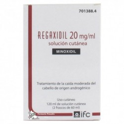 REGAXIDIL 20 MG/ML SOL. CUTANEA 2 FRASCO 60 ML
