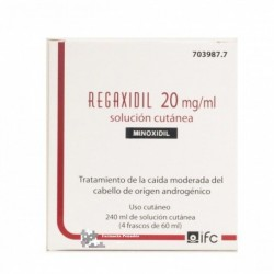 REGAXIDIL 20 MG/ML SOL. CUTANEA 4 FRASCO 60 ML