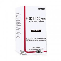 REGAXIDIL 50 MG/ML SOL. CUTANEA 1 FRASCO 60 ML