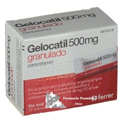 GELOCATIL 500 12 SOBRES
